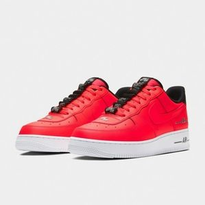 Nike air force 1 lv8 crimson laser red